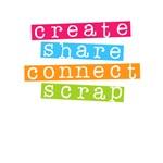 Create Share Connect Scrap