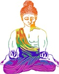 Rainbow Buddha | Mystic Gay T-shirts & Gay Lifestyle Gifts