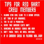 Tips For Red Shirt Crew Members