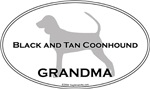 Black and Tan Coonhound GRANDMA