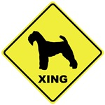 Welsh Terrier Crossing