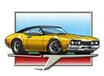 Oldsmobile Cutlass and Hurst Olds cars