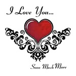 I Love You More I by Inspirational by Design USA