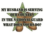 My Husband is Serving Our Country