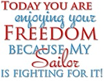 My Sailor is Fighting for Your Freedom