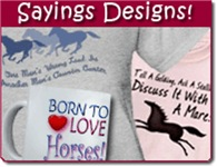 Horse Sayings, Quotes Gifts & Clothes
