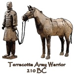 Terracotta Army Warrior Horse Gifts & Clothes