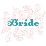 Bride: Flower Garden (Aqua and Pink)