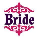 Bride: Moroccan (Purple and Fuschia)