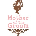 Cameo Mother of the Groom (Pink & Brown)