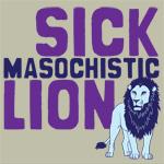 Sick, masochistic lion