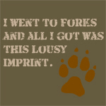 Lousy imprint.