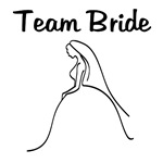 Team Bride Wedding Dress