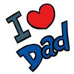 I Heart Dad Shirts, Heart Gifts