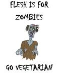 flesh is for ZOMBIES (PETA)