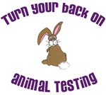 Rabbit Turn Your Back (ASPCA)