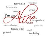 I'm an Alice