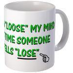 Grammar Mugs & Bottles