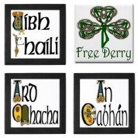 New Designs! Counties of Ireland