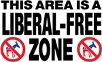 This Area Is A Liberal-Free Zone