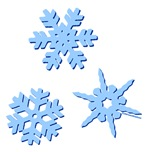 3-D Snowflakes
