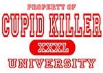 Cupid Killer University T-Shirts