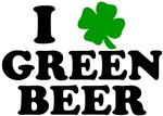 I Shamrock Green Beer Love T-Shirts