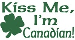 Kiss Me I'm Canadian T-Shirts