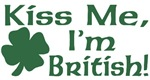 Kiss Me I'm British T-Shirts