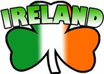 Ireland Tricolor Shamrock T-Shirts
