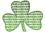 Green Shamrock of Irish T-Shirts