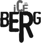 Iceberg typography with Polar bear