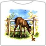 Vintage Foal & Duckling
