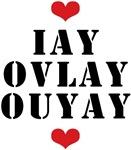 iay ovlay ouyay