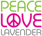 Peace Love Lavender
