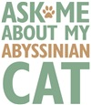 Abyssinian Cat Lover Gifts