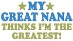My ___ Thinks I'm The Greatest!