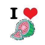 I Heart (Love) Watermelon