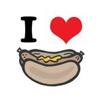 I Heart (Love) Hot Dogs