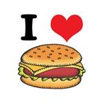 I Heart (Love) Cheeseburgers