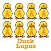 Lupus Awareness Ribbon Ducks