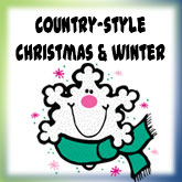 Country Style Christmas & Winter Designs