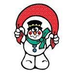 Silly Goofy Snowman