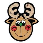Cute Reindeer Face