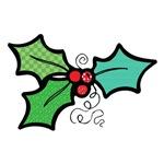 Cute Mistletoe (Holly) Design