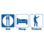 Eat. Sleep. Protect. (Police/Cop)