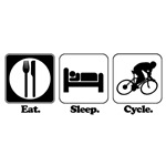 Eat. Sleep. Cycle. (Cycling)