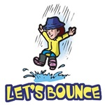 Let's Bounce Jumping in Puddles