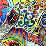 Zentangle Colorful