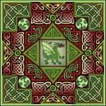 Celtic Dragon Labyrinth Design © Kristen N. Fox